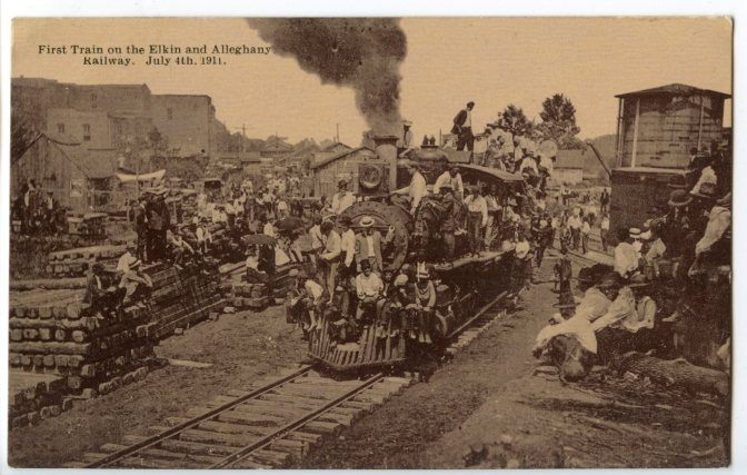 Share Your Memories of the E&A Railroad and Elkin History