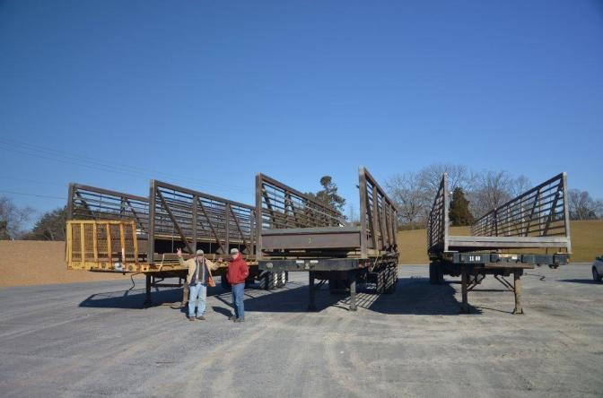 The Bridge Has Arrived! Construction Underway