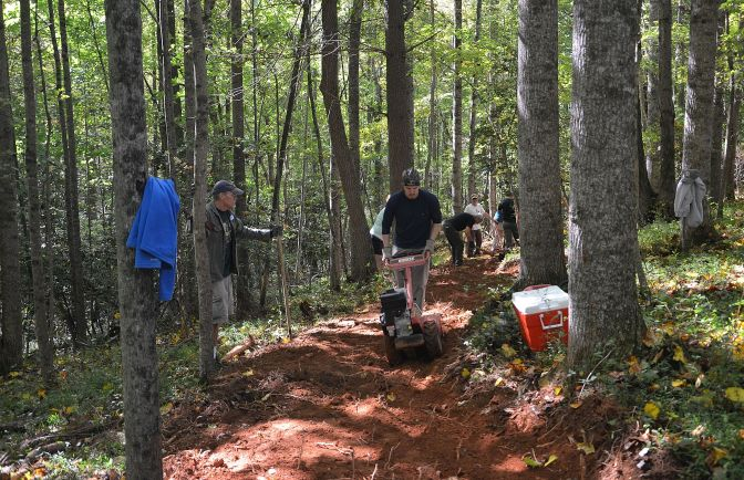 Stone Mountain Trail Workday: Friday January 16