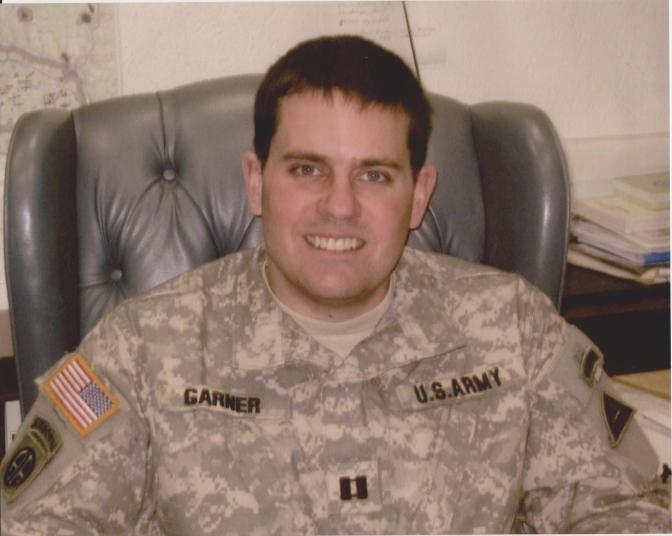 Captain Mark Garner Will Be Honored at November 11 Ceremony